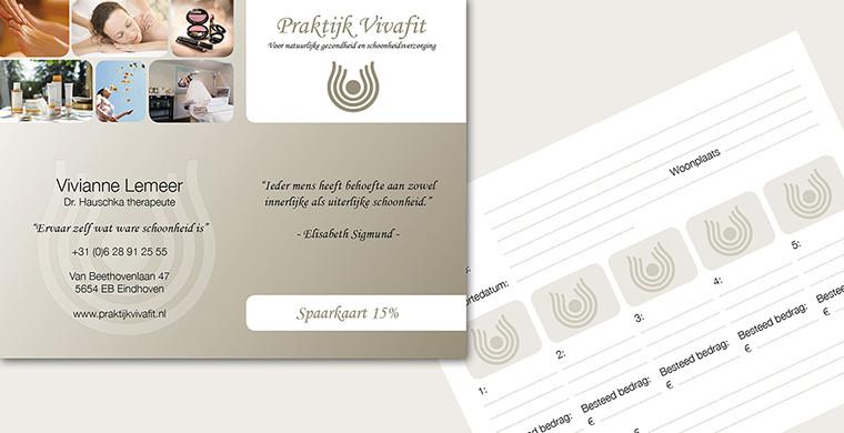 spaarkaart praktijk vivafit